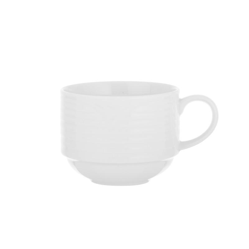 Taza para té Artic White Noritake