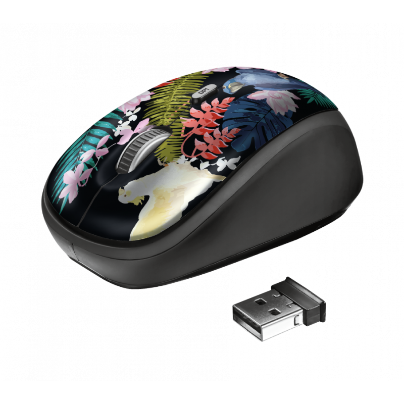 Mouse con diseño inalámbrico Trust