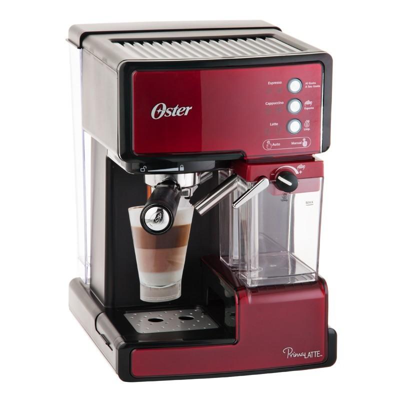 Cafetera Prima Latte Oster 300 ml Rojo