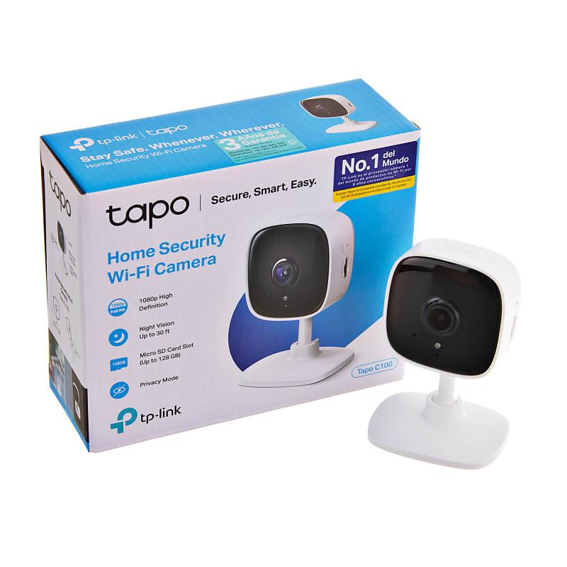 Cámara IP Full HD / Audio doble vía / Visión Nocturna Tapo C-100 TP-Link