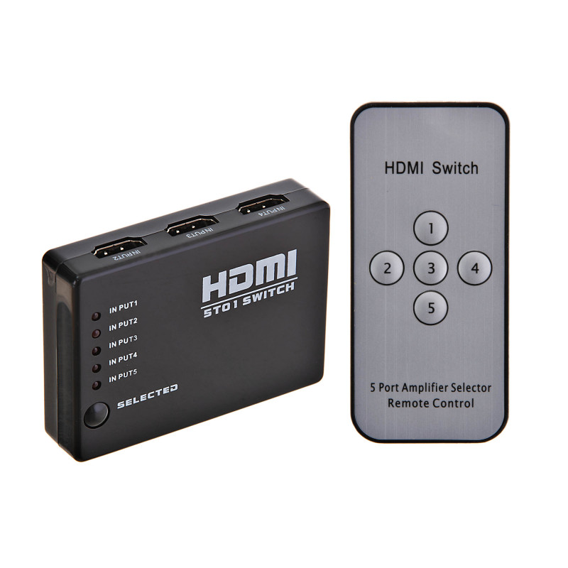Splitter HDMI 5X1