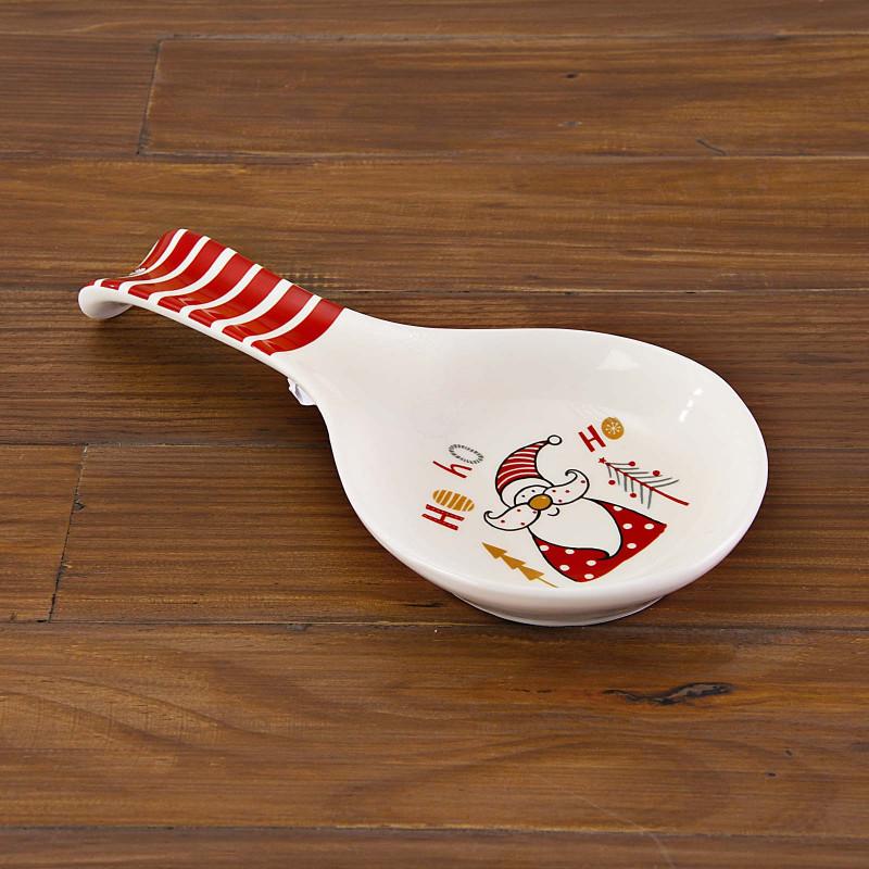 Posa cuchara Santa Ho Ho Ho