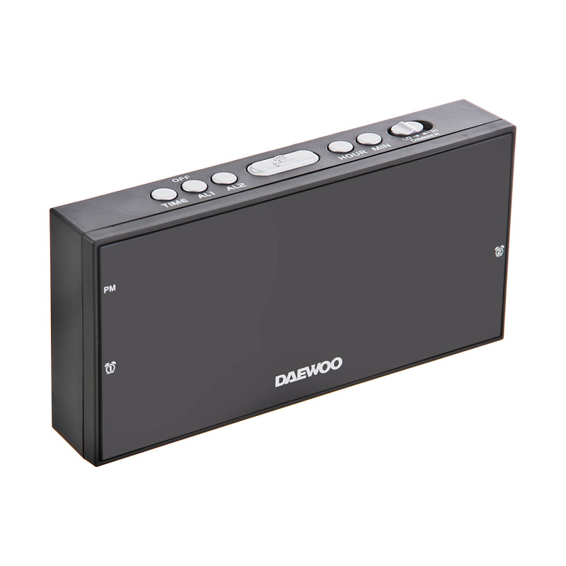 Reloj / Despertador con pantalla digital / alarma DI-3155 Daewoo
