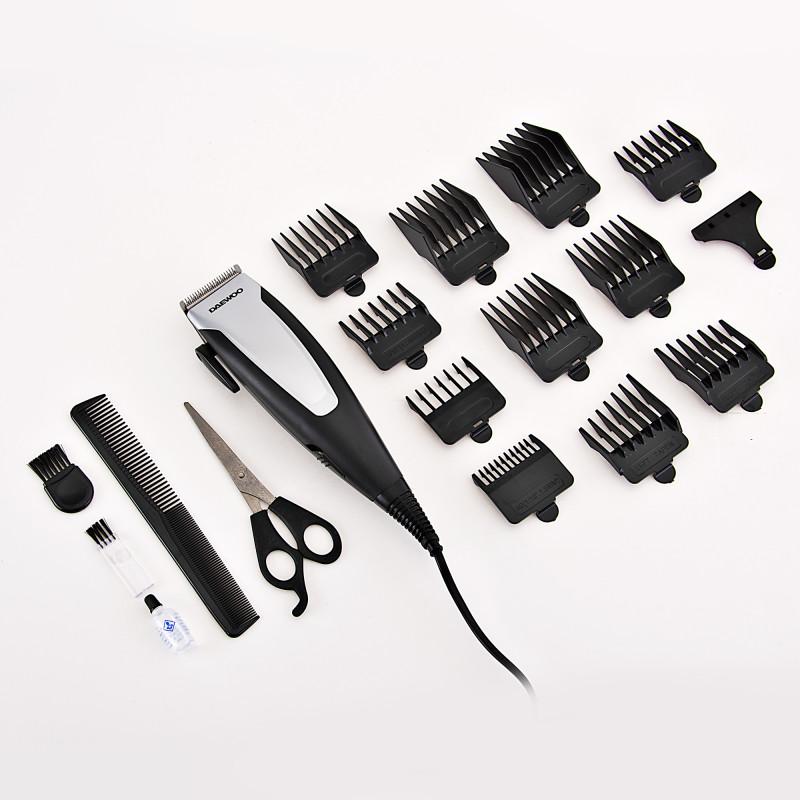 Cortador eléctrico para cabello 16 piezas DHC-2103 Daewoo