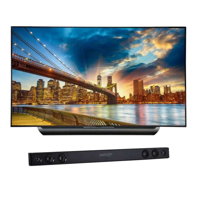 "LG TV OLED Digital ISDB-T Smart 4K OLED65C8 65"" / Sound Bar"