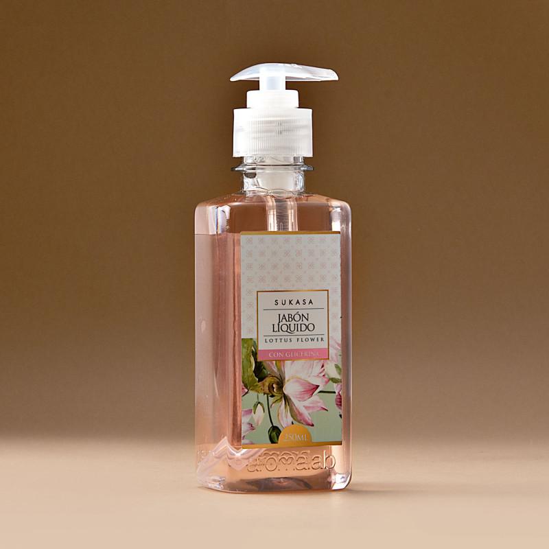 Jabón líquido con glicerina Lottus Flower 250ml