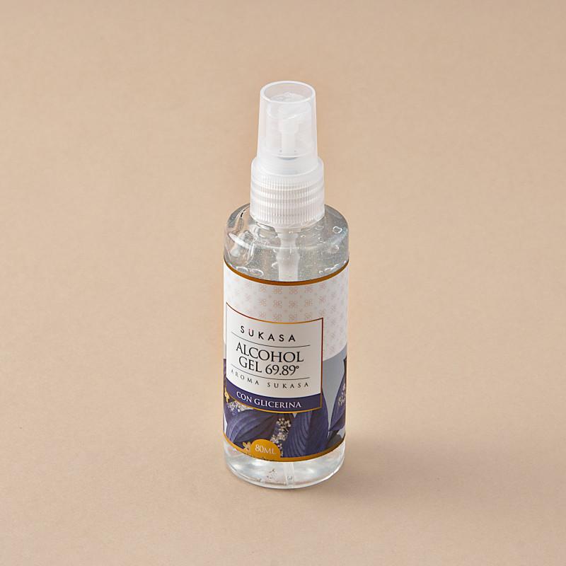 Gel desinfectante con glicerina Aroma Sukasa