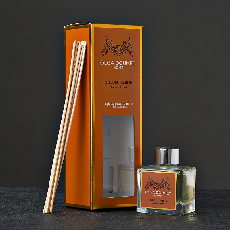 Difusor de aroma Golden Amber Olga Doumet