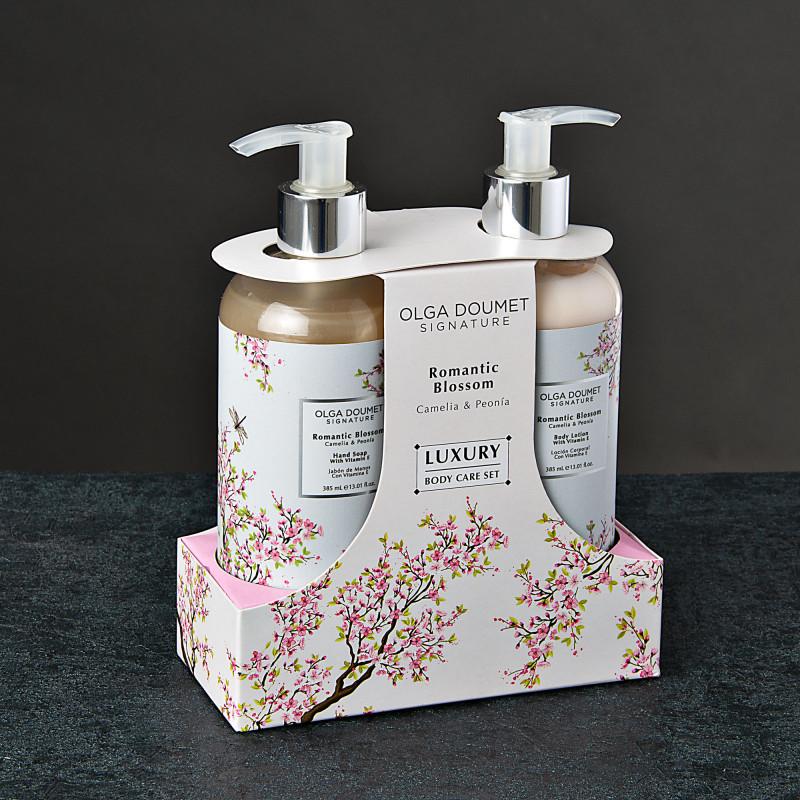 Jabón de manos / Crema corporal Romantic Blossom Olga Doumet