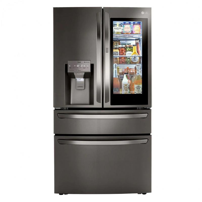 LG Refrigerador French Door con Dispensador / Fábrica de hielo / Inverter Instant View 850L LM85SXD