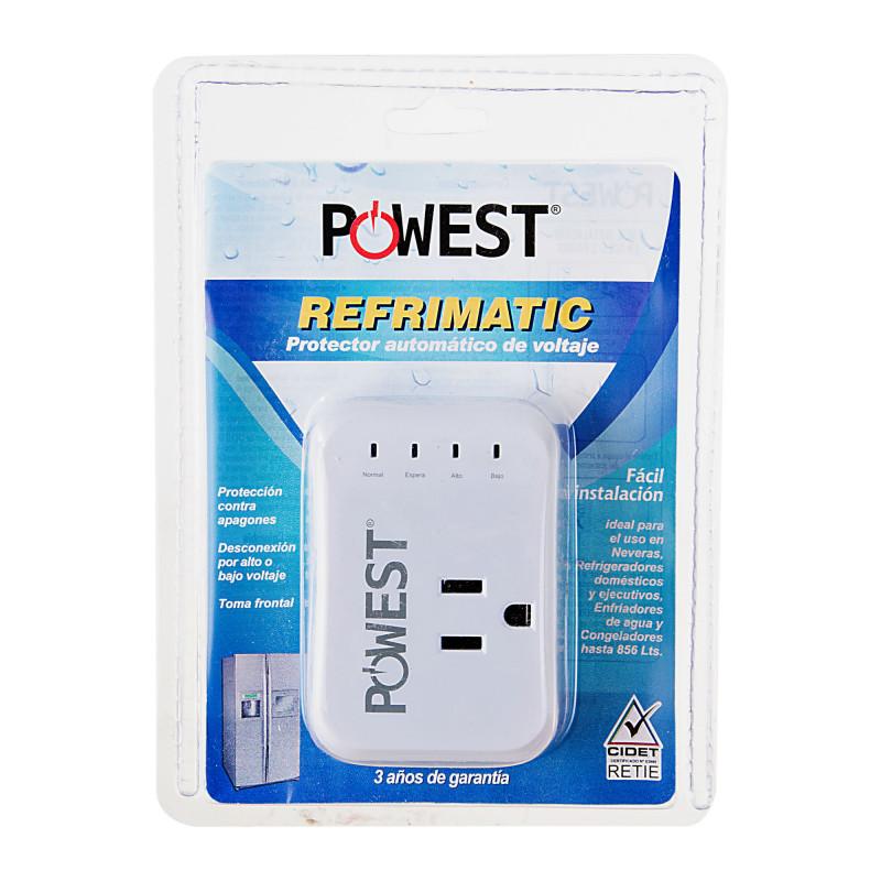 Protector de voltaje para refrigerador de hasta 856L 1200W 10A-120VAC Nicomar