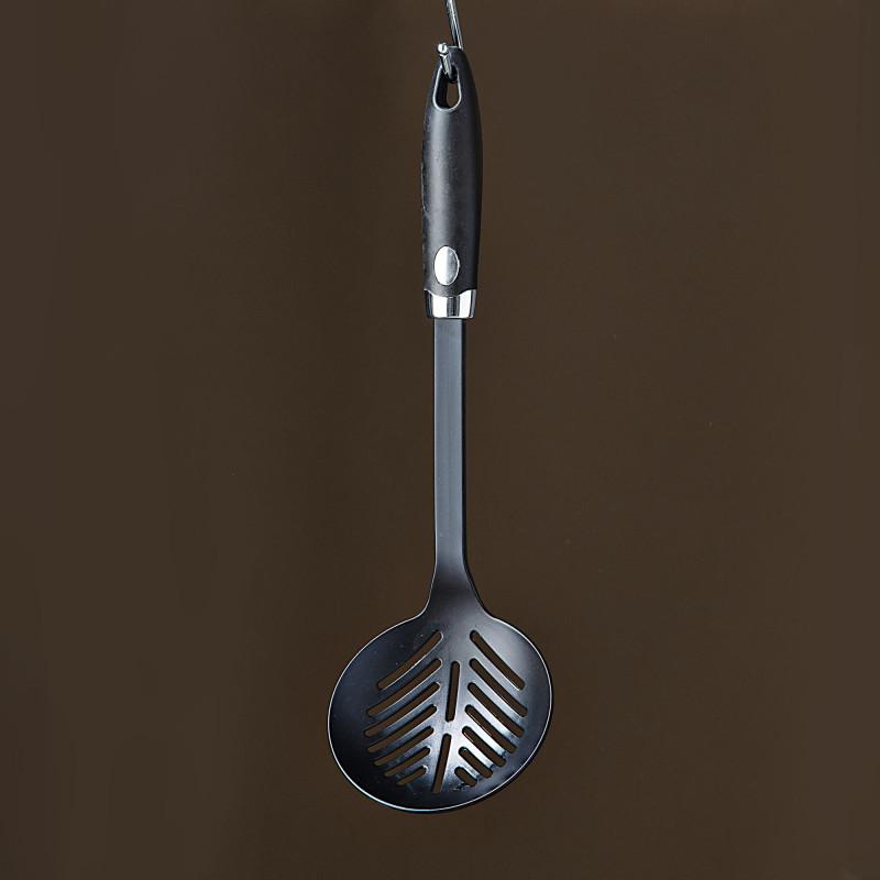 Espumadera Negro / Círculo Silver