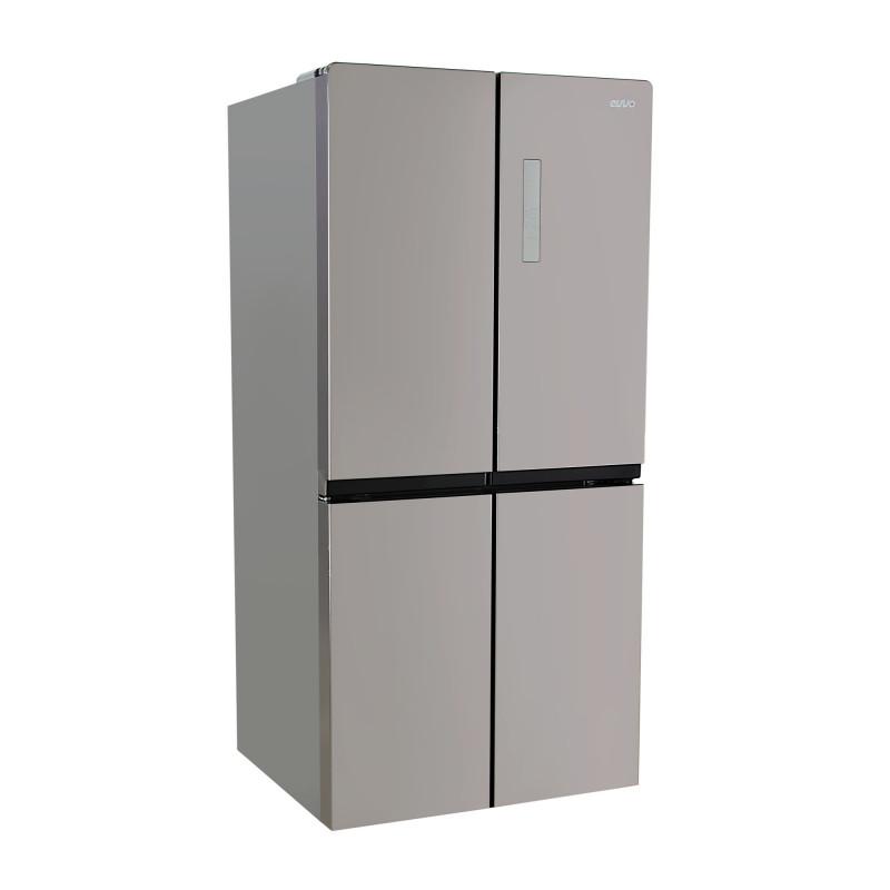 Evvo Refrigerador 4 puertas Silver 482L EV-627W