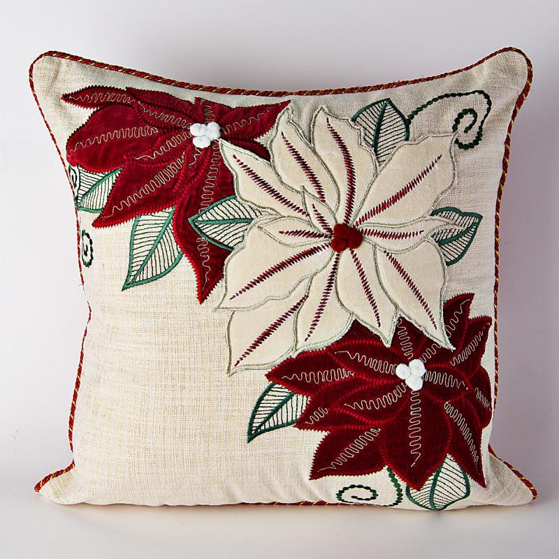 Forro para cojín Flor de Navidad Haus