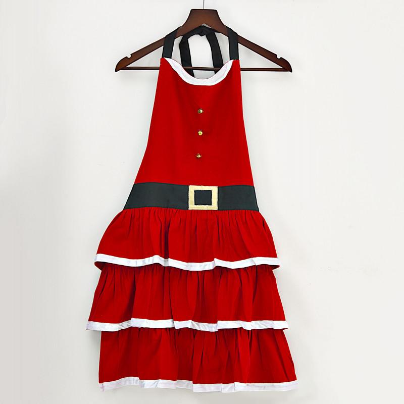 Delantal Vestido Mamá Noel Haus