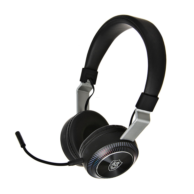 Audífonos inalámbricos gaming BT / RGB / 5 horas KR-GM032