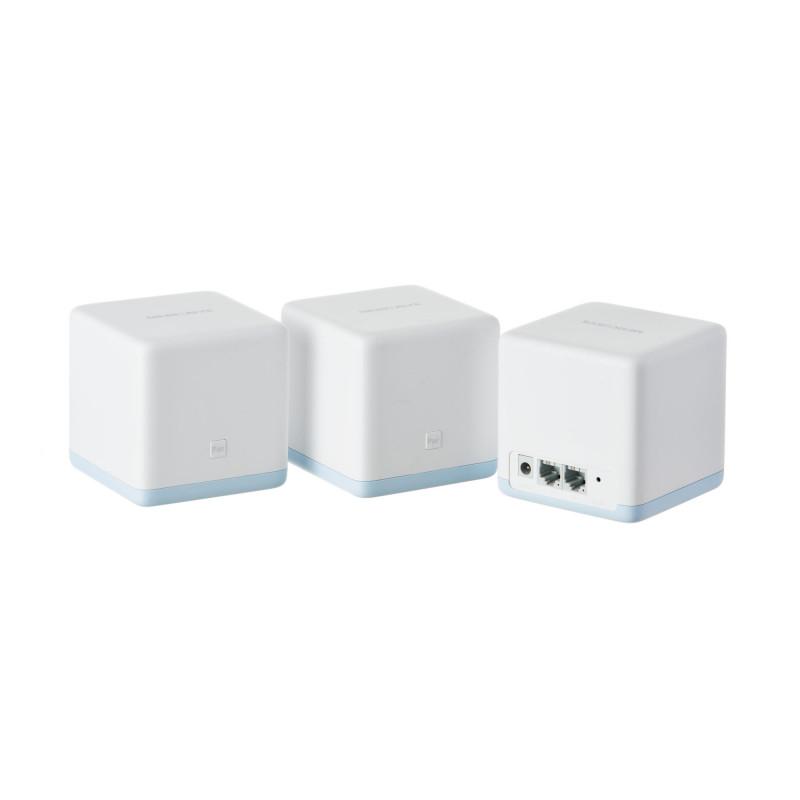 Sistema Wi-Fi Malla AC1200 S12 4 antenas / Cobertura 320m2  Halo S12 Mercusys