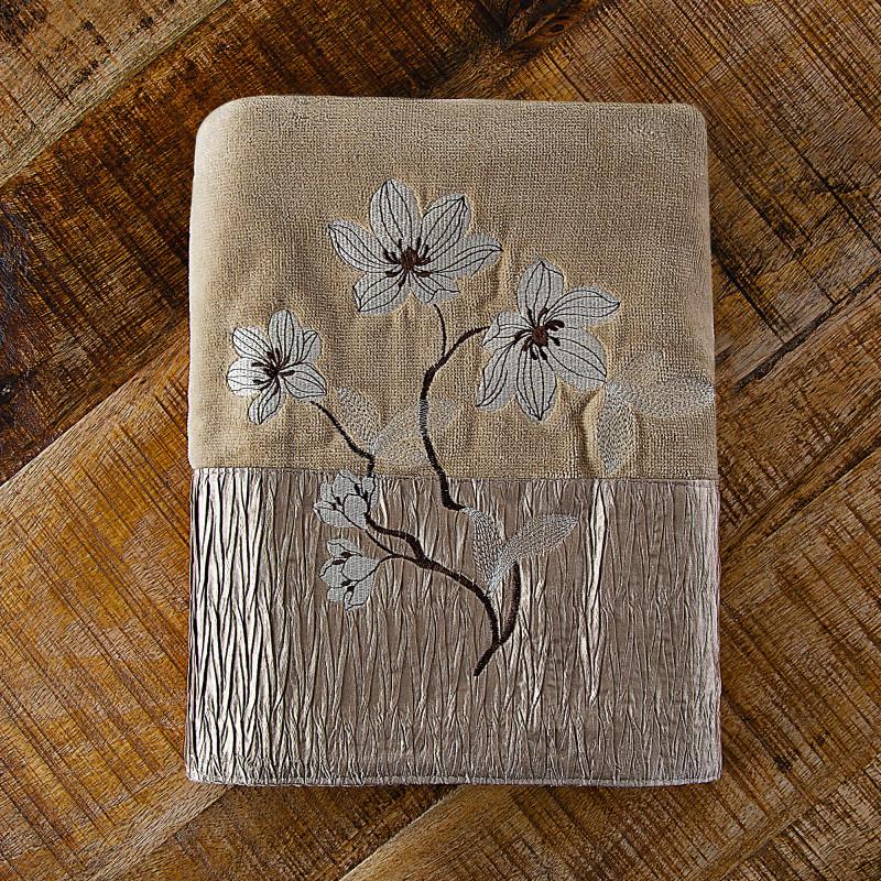 Toalla de baño Magnolia Bronze Croscill