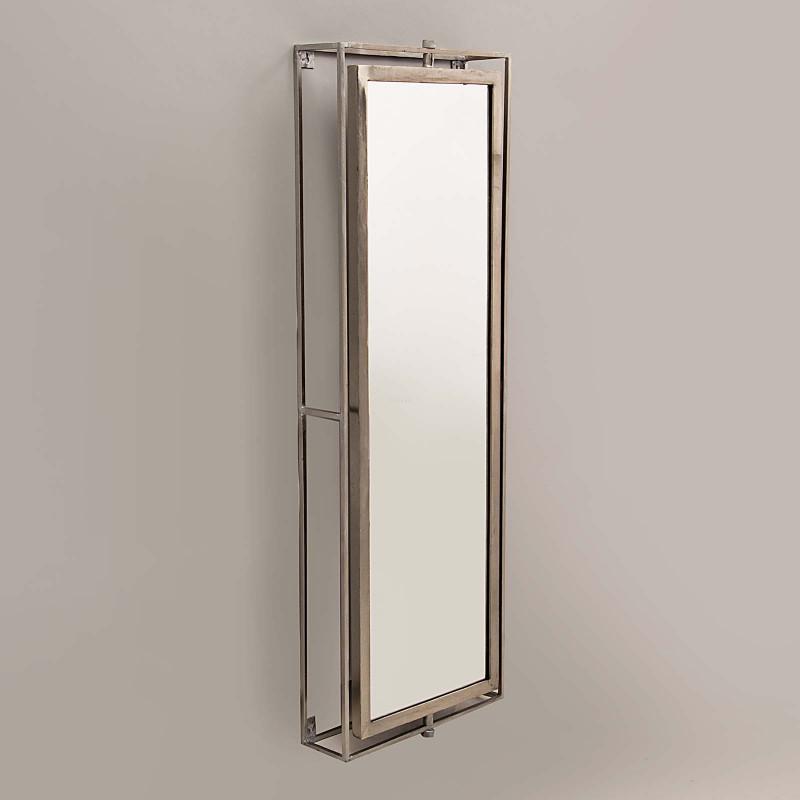Espejo Cuerpo Entero Giratorio Silver Haus