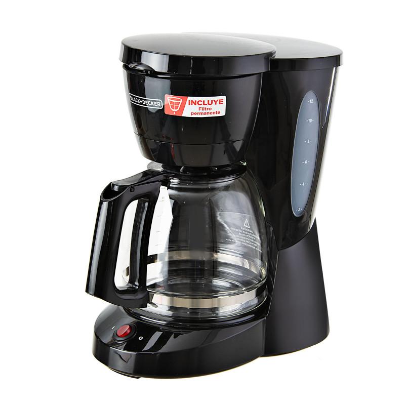 Cafetera con apagado automático CM0941B Black & Decker