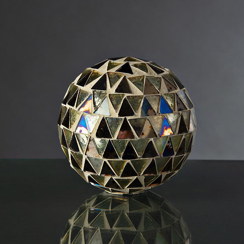 Esfera decorativa Mosaico Silver / Ámbar Haus