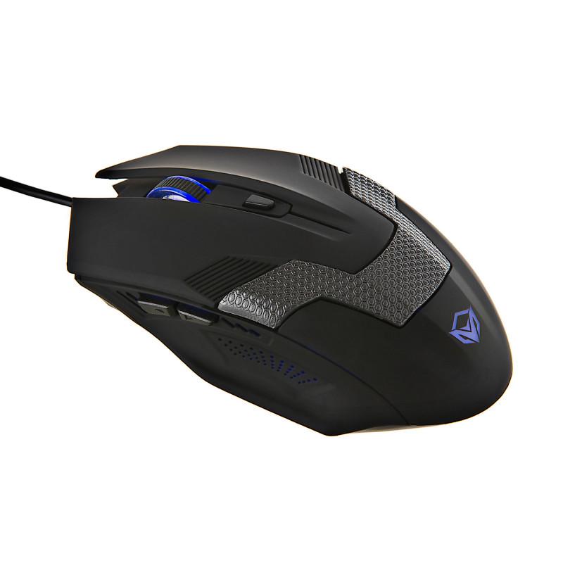 Mouse gaming 2000DPI / 6 botones / Retroiluminado / Cable de 1.5m MT-M940 Meetion