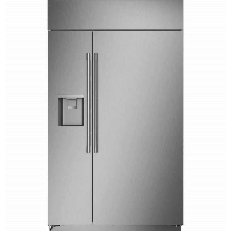 GE Monogram Refrigerador S/S con dispensador 28.6' ZISS480DNSS
