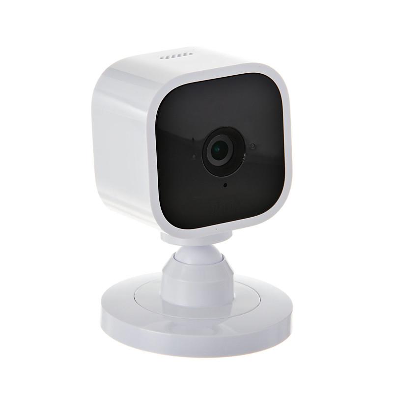 Cámara 1080P / Audio doble vía / Detecta movimiento / Compatible Alexa Blink Mini
