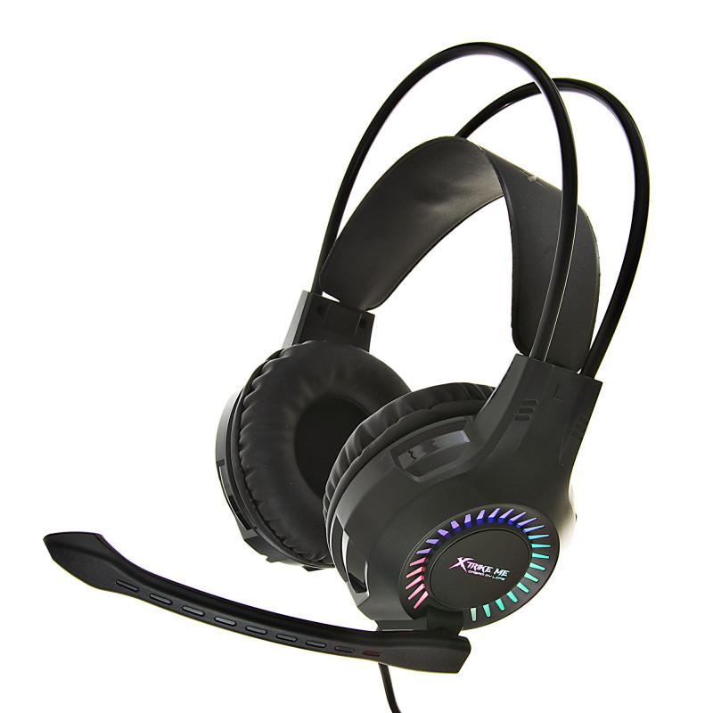 Audífonos gaming iluminados con micrófono GH-709 Xtrime Me