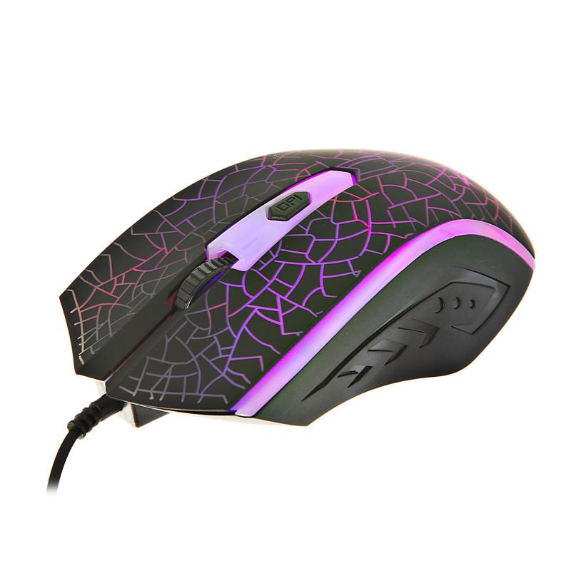 Mouse gaming iluminado 2400DPI / 1.5m GM-206 Xtrike Me