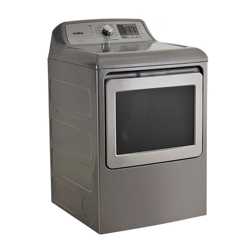 Mabe Secadora a gas de carga frontal 10 programas / 4 niveles 52lbs SMG17R8MSGAB0