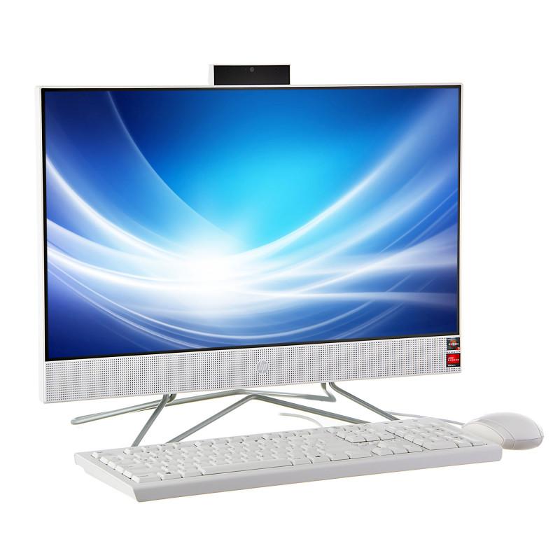"HP AIO 22-dd0017la Ryzen 3 3250U 4GB / 1TB + 256GB SSD Win10 Home 23.8"""