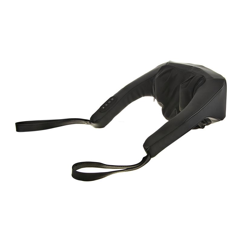 Masajeador para cuello / espalda 3D recargable con calor / 2 nodos / cubierta removible Homedics