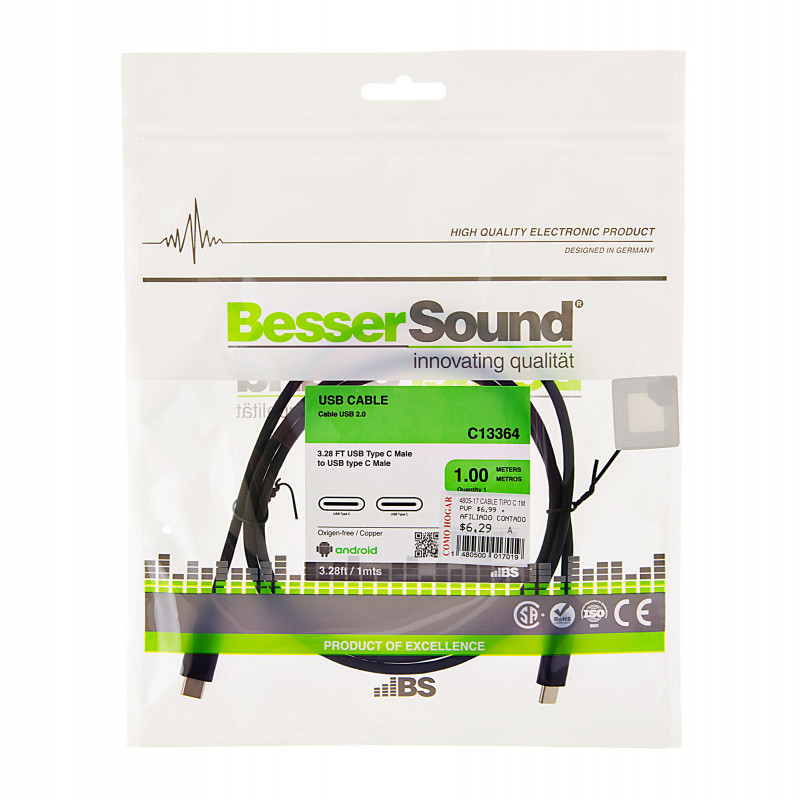 Cable Tipo-C Besser Sound
