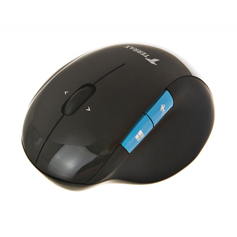 Mouse ergonómico recargable WM-717 Terrax