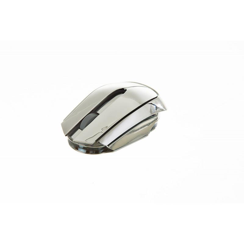 Mouse aluminio 7 luces LED M221 Terrax