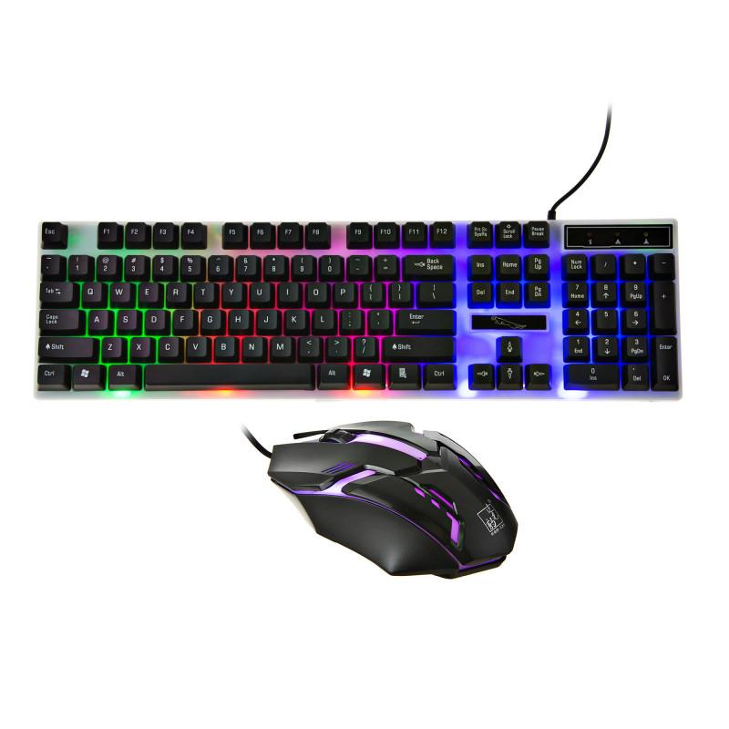 Combo Teclado + Mouse gaming alámbrico G21B
