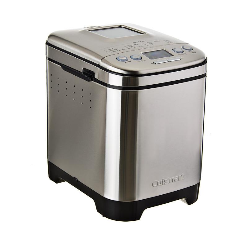 Cuisinart Máquina para pan con tapa transparente 12 opciones 550W CBK-110P1