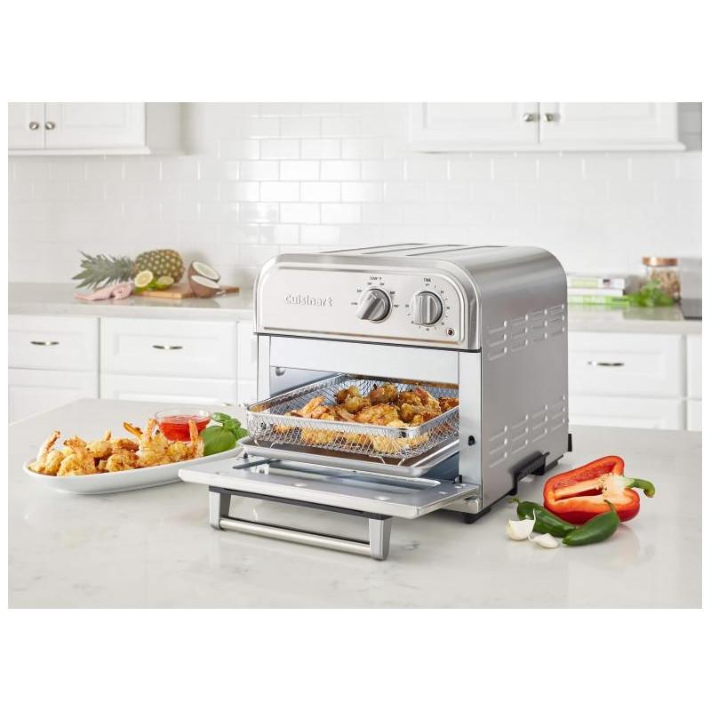 Cuisinart Horno tostador / Freidora de aire con perillas / temporizador AFR-25