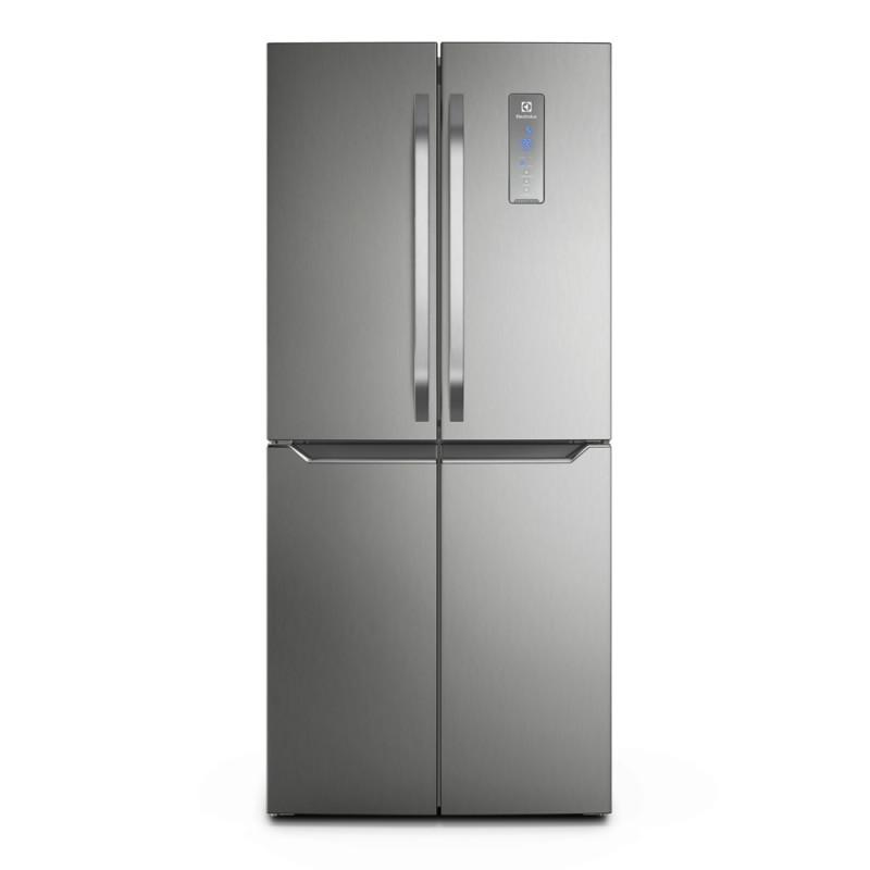 Electrolux Refrigerador Inverter Multidoor 401L Silver ERQU40E6HSS