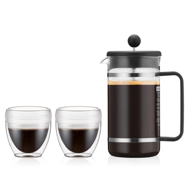 Cafetera con taza / corcho 4 piezas Bistro Bodum