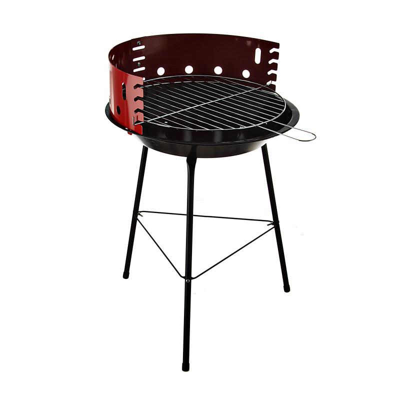 BBQ a carbón 36cm Rojo / Negro