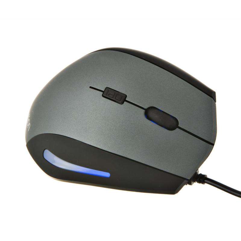 Mouse ergonómico con luz LED M380 Meetion