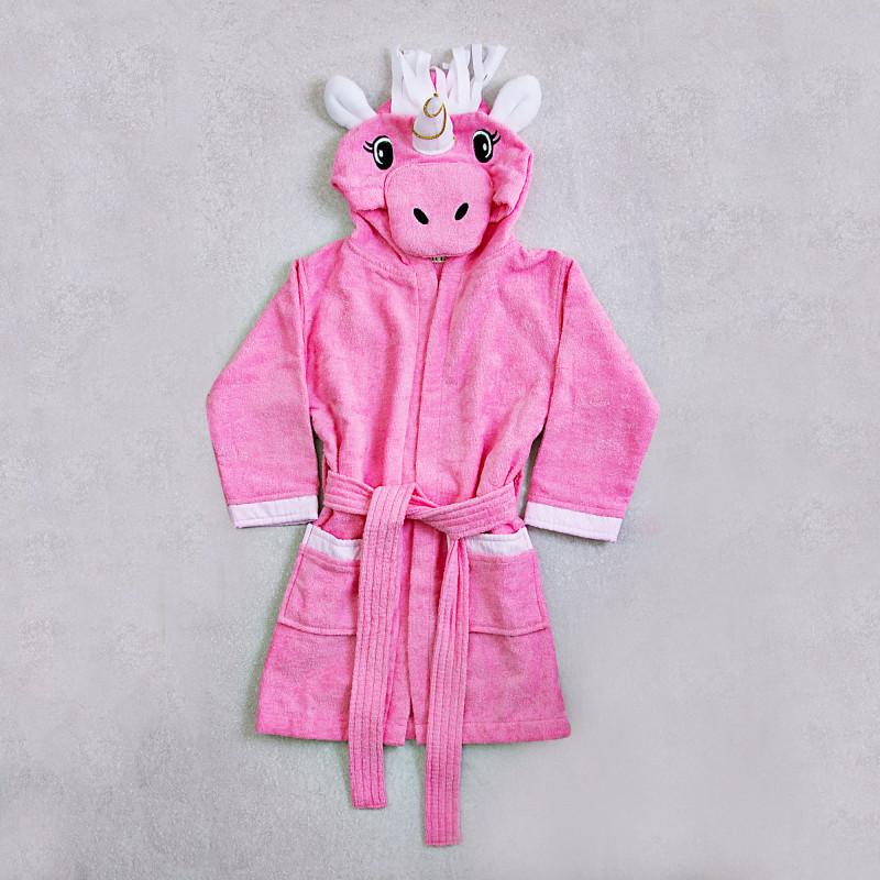 Bata de baño infantil con capucha Unicornio Haus