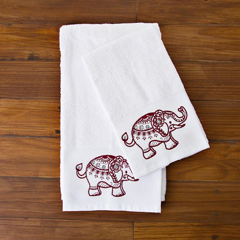 Juego de 2 toallas Elefante Haus
