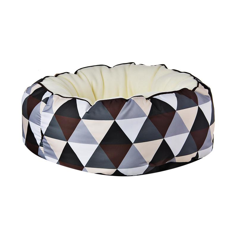 Cama redonda para perro Donut Café