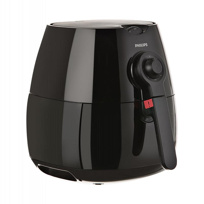 Freidora de aire con perrilla de control de tiempo / temperatura 20 onzas HD9218/72 Philips