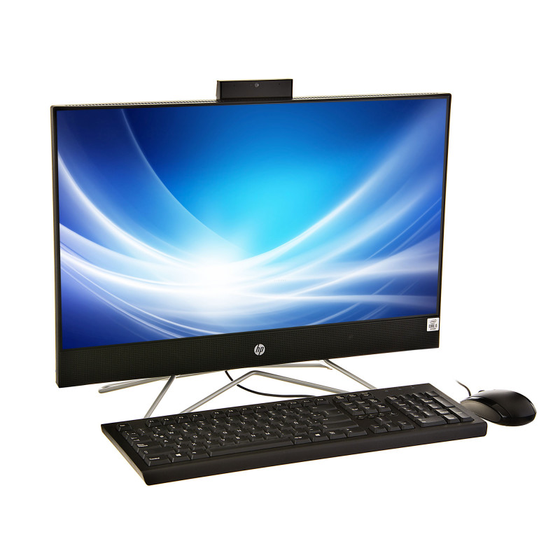 """HP AIO 22-df0016la Core i5-10400T 4GB / 1TB Win10 Home 23.8"""""""