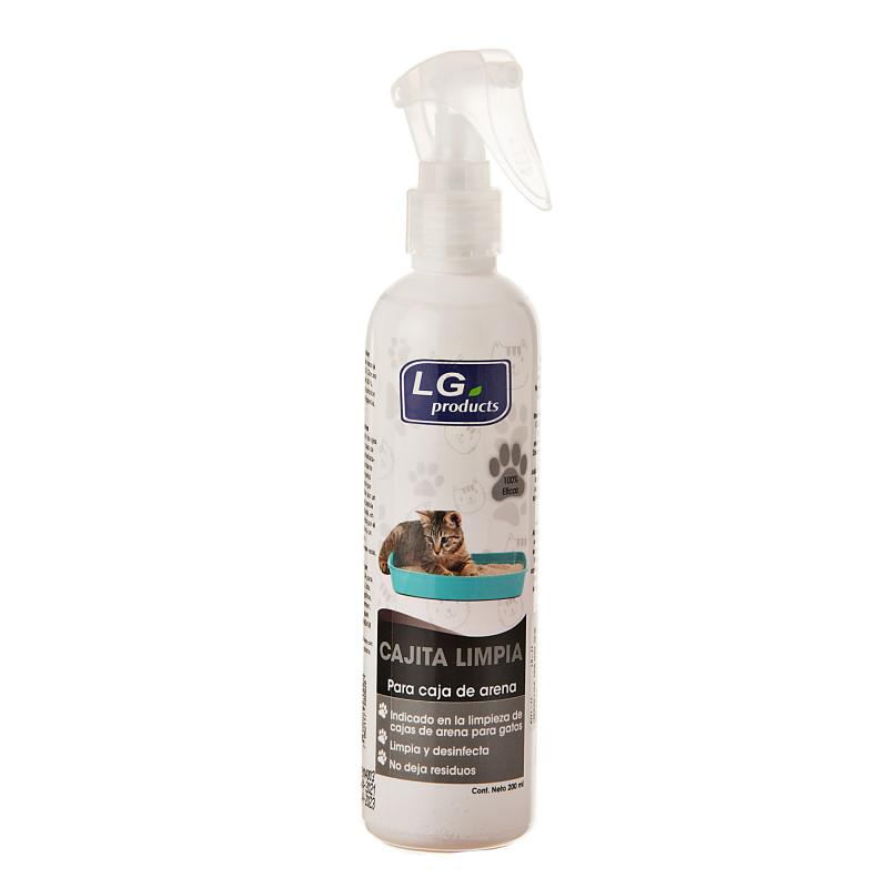 Limpiador para caja de arena para gatos