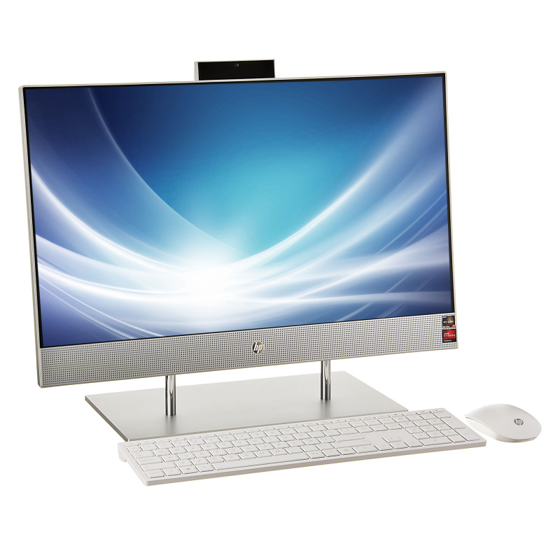"HP AIO 24-dp0009la AMD Ryzen 5 8GB / 256GB SSD 1TB Touch / Windows 10 Home 23.8"""